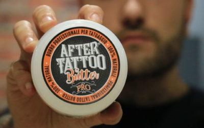 AFTERTATTOO BUTTER PRO – il nuovo burro professionale per tatuare