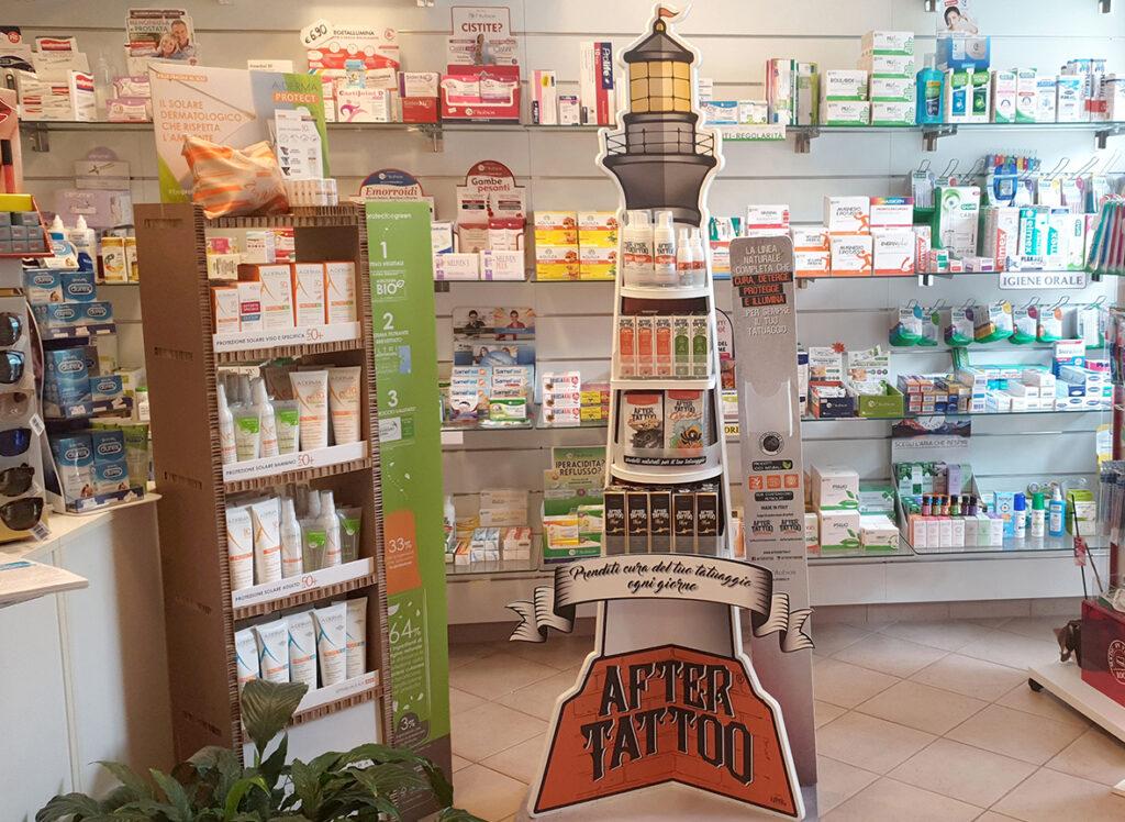 Distributore Creme Tatuaggio Farmacia
