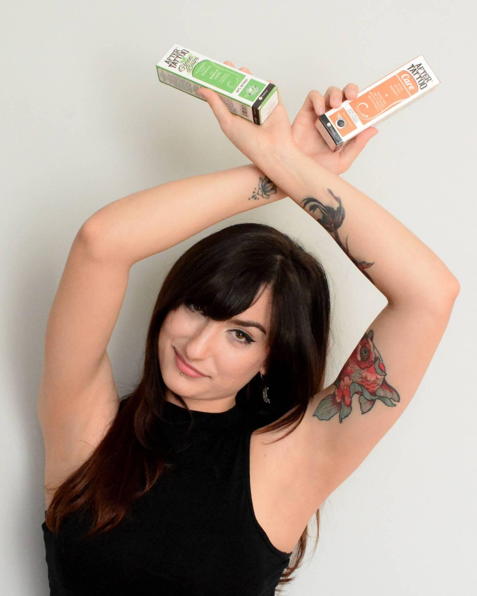 Cura del Tatuaggio con Aftertattoo Care e Green Balm