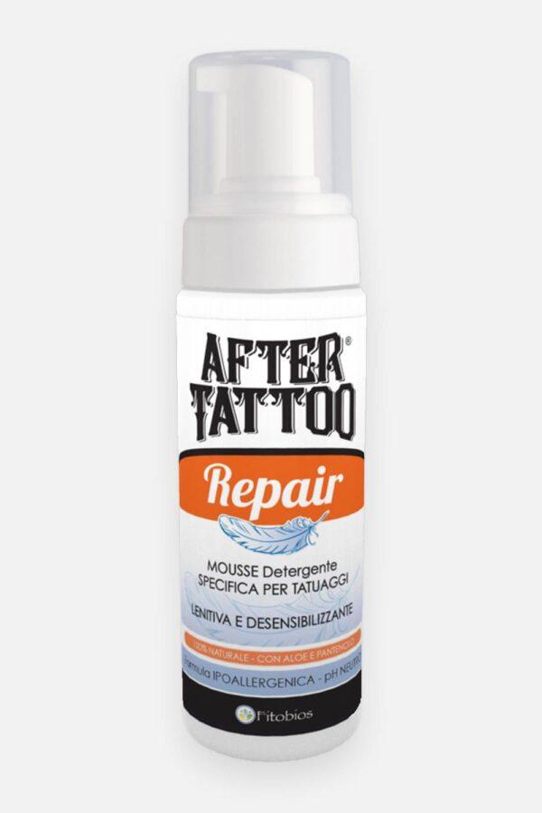 Mousse detergente tatuaggi repair
