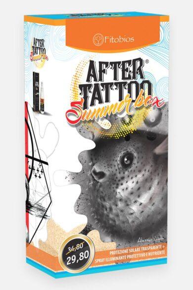 Protezione solare e crema rivitalizzante tatuaggi summer box