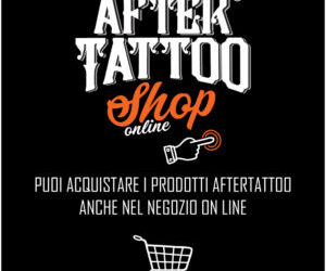 È ON LINE LO SHOP AFTERTATTOO